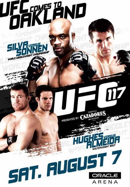 ufc 117 poster medium1 1 UFC 117   Silva vs Sonnen