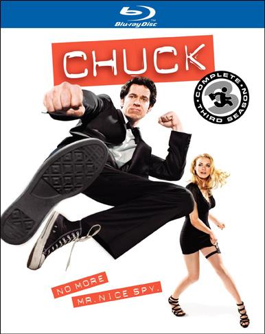 Chuck Season 31 Blu Ray Review: Chuck Season 3