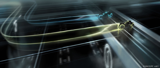 TR2N vyle atmosphere A 02 Amazing Tron: Legacy Concept Art