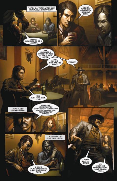 caliber 2 of 5 page 8 Comic Review: Caliber