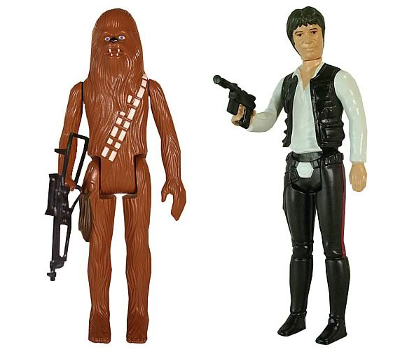 han and chewie figures 12? Star Wars Vintage Figures