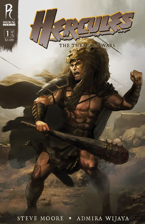 hercules 1 coverB Comic Review: Hercules – The Thracian Wars