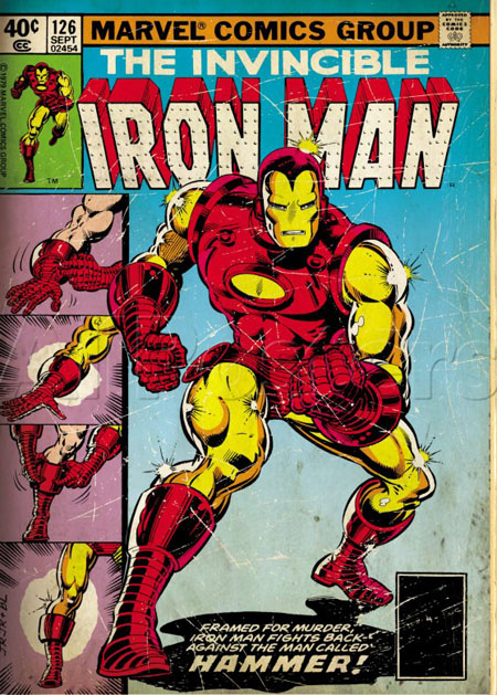 iron man Free Giveaway: Marvel Poster Collection $100 Value
