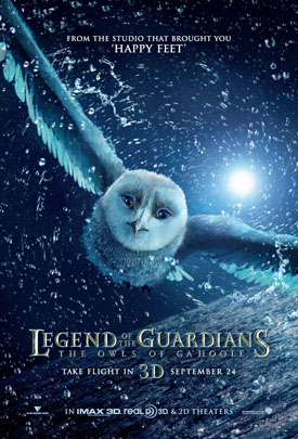 legend of the guardians the owls of gahoole xlg Weekend Movie Review Roundup: Owl And Gekko Edition