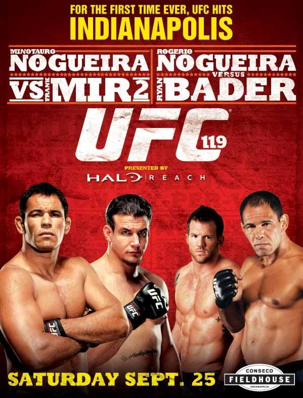 ufc 119 poster UFC 119: Mir vs. Crocop Predictions