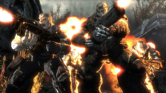 gears of war xbox 360 image  1 Less Laggy Gears Of War 3