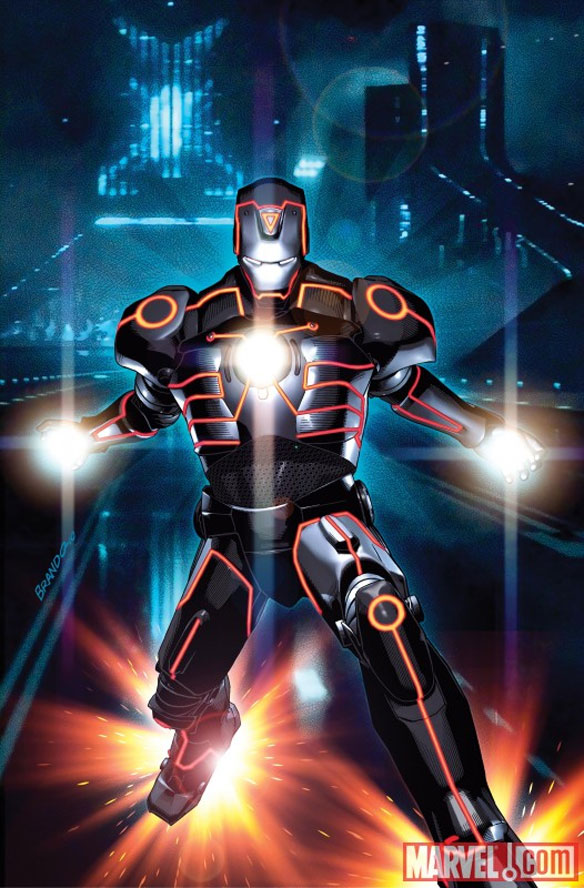 ironman Marvel Characters In Tron Universe