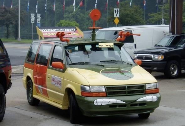 turtles van04 A Real TMNT Van