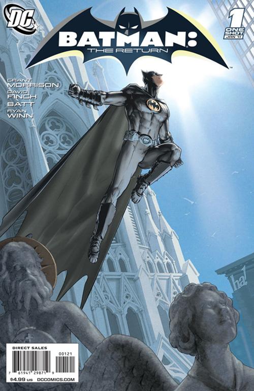 batman return Comic Book Sales Down For November