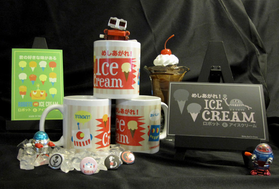 group Win Exclusive Robots and Ice Cream Giftset!