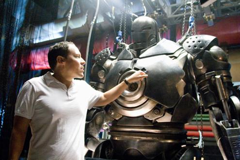 jon favreau iron man movie image thumb Favreau To Direct Disney Attraction Movie