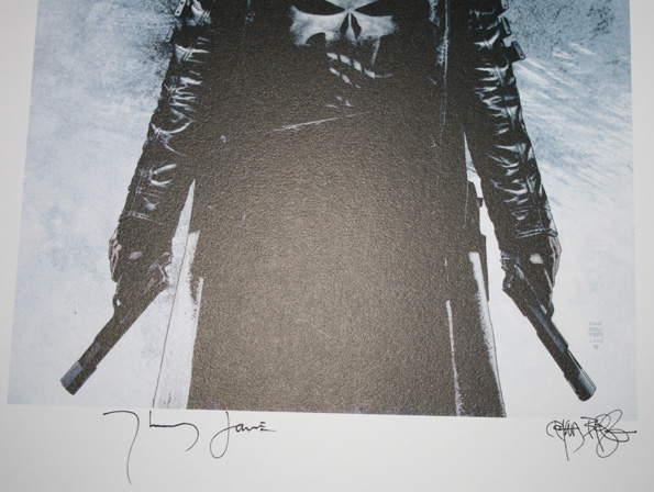 punisher2 Win Punisher Poster Signed by Actor & Artist!
