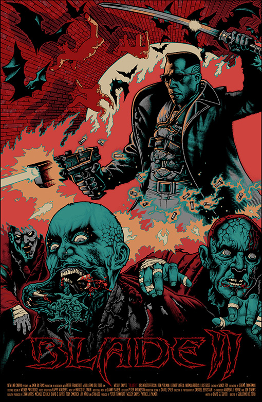 Blade2R Guillermo del Toros Film Posters