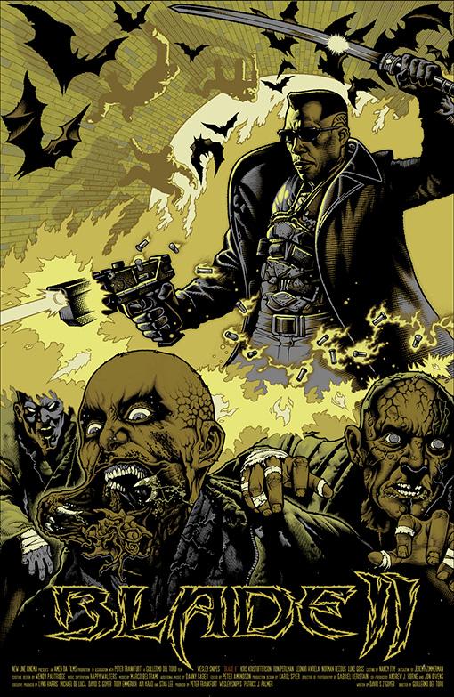 Blade2Y Guillermo del Toros Film Posters