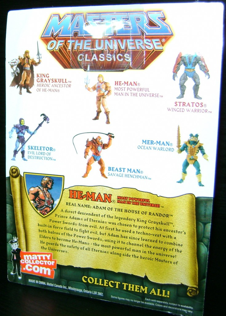 HeMan 3 735x1024 Totally Bitchin Toys: Skeletor And He Man!