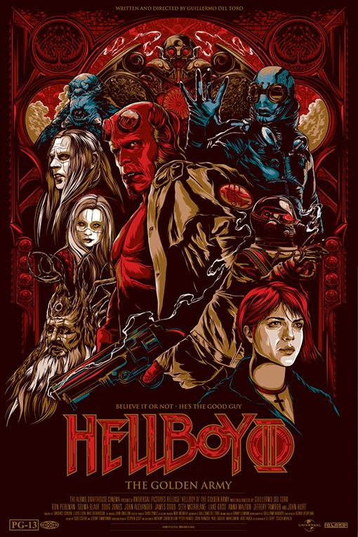 hellboyposter Guillermo del Toros Film Posters