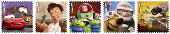 pixar post Pixar Stamps 2011