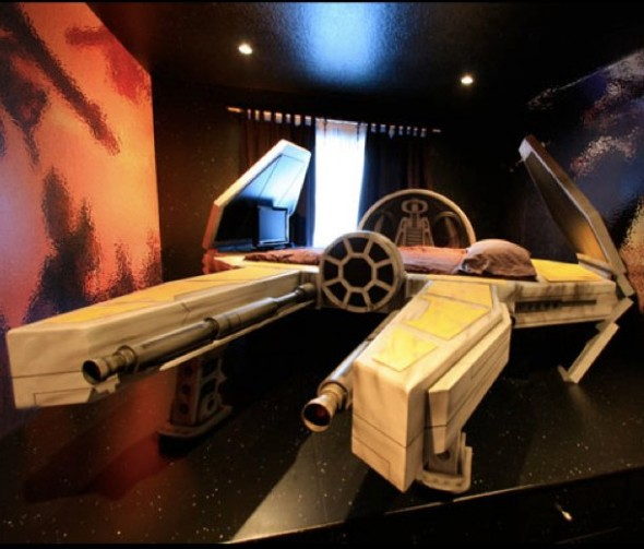 sw bed Generic Star Wars Space Ship Bed