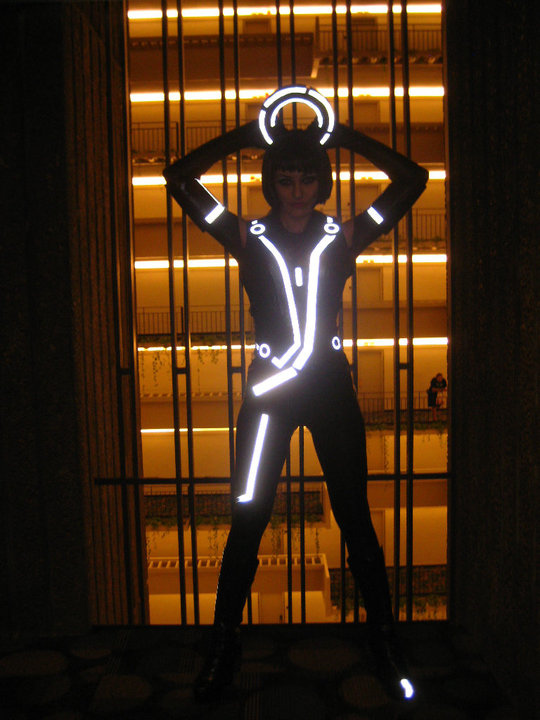 4983286680 36fda2b862 b Sexy And Awesome Quorra Cosplayer From Tron Legacy