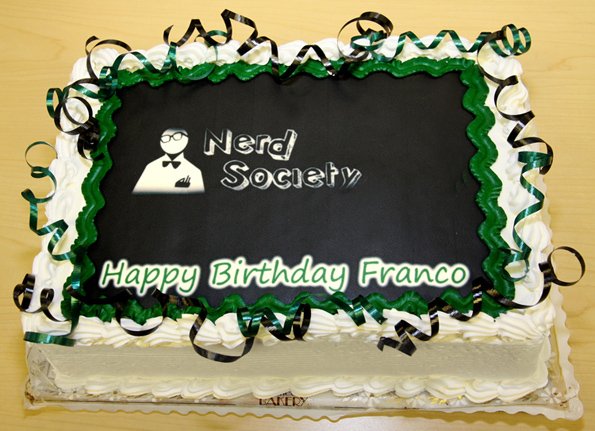 Francos cake crop2 NERD Cake For Epic Win!