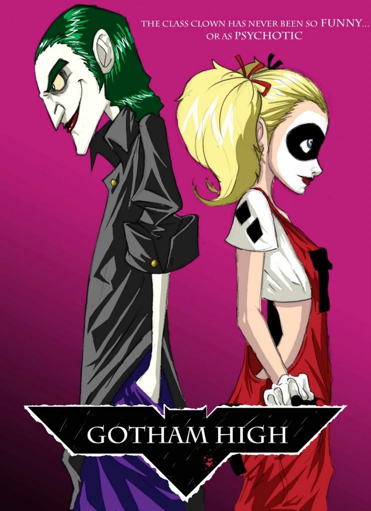 GothamHigh02 743x1024 Concept: Gotham High