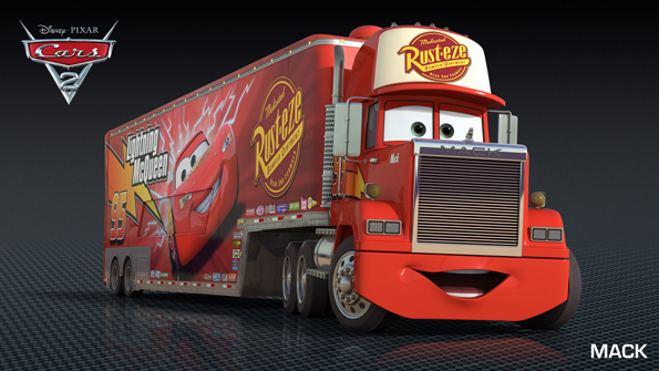 Mack Cars 2 Profile Pics Includes Lightning McQueen