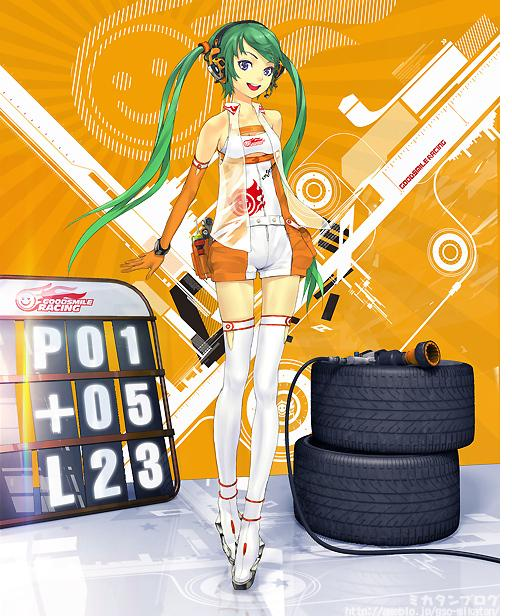 Racing Miku 2 Racing Miku: The Sexy Vocaloid!