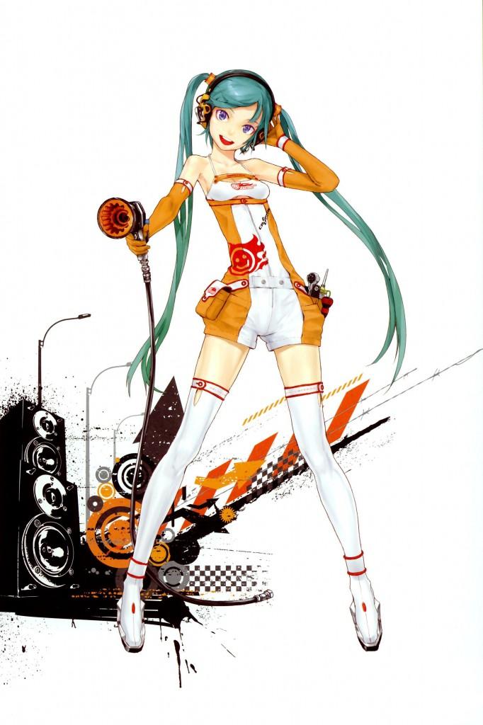 Racing Miku 682x1024 Racing Miku: The Sexy Vocaloid!