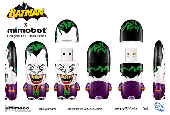 joker Batman Mimobots USB Flash Drives