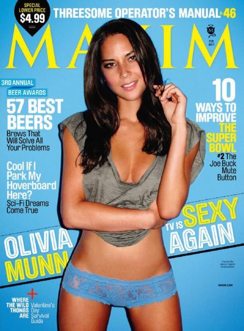 olivia munn maxim Olivia Munns Controversial Maxim Cover Is Meh
