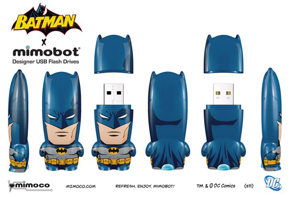 regularbatman Batman Mimobots USB Flash Drives