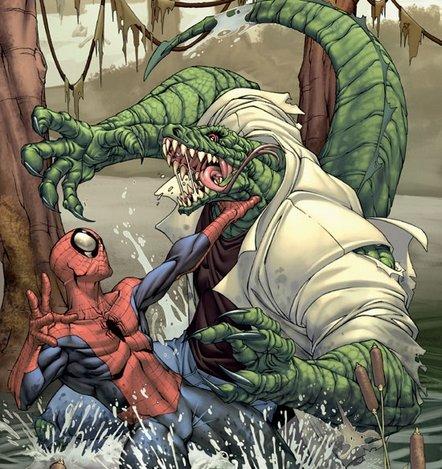 spiderman lizard Movie Duel: Dark Knight Rises Vs. Spider Man Reboot