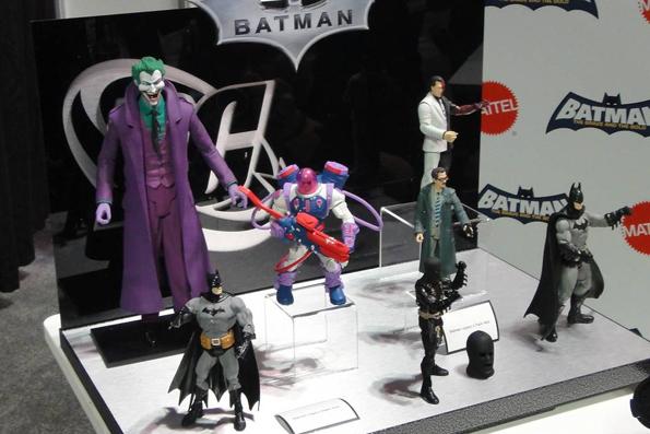 1 Yay! New Batman Line From Mattel