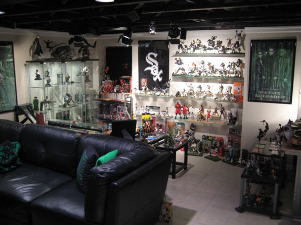 Basement07 Incredible Riddler Man Room And More