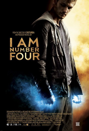 I am number four poster Movie Review: I Am Number Four