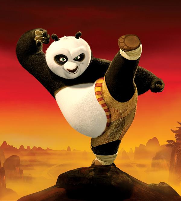 Kung Fu Panda Po Poster Po the Panda Super Bowl Ad: Kung Fu Panda 2