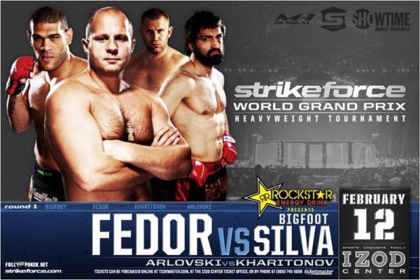 Strikeforce Fedor vs Silva STRIKEFORCE Grand Prix 1 Predictions