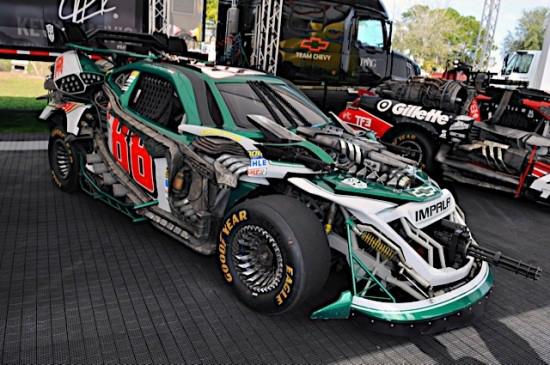 Transformers02 TRANSFORMERS At The Daytona 500