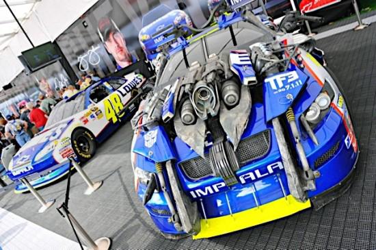 Transformers03 TRANSFORMERS At The Daytona 500