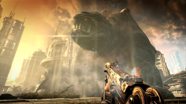 bulletstorm giant monster screenshot Killzone 3 And BulletStorm Fight For Bragging Rights