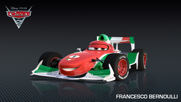 cars2 francesco Bernouilli Meet Shu Todoroki and New Cars 2 Characters