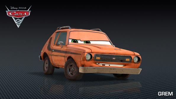 cars2 grem Meet Shu Todoroki and New Cars 2 Characters