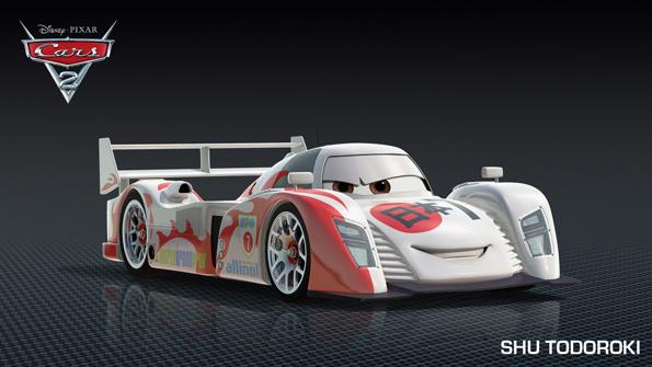 cars2 shutodoroki Meet Shu Todoroki and New Cars 2 Characters