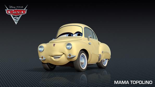 cars2 uncletopolino Meet Shu Todoroki and New Cars 2 Characters