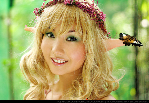 fairy3 Sexy Baroness Cosplayer: Alodia Gosiengfiao