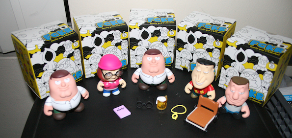 famil guy kid robot 2 Family Guy Kidrobot Figures Review