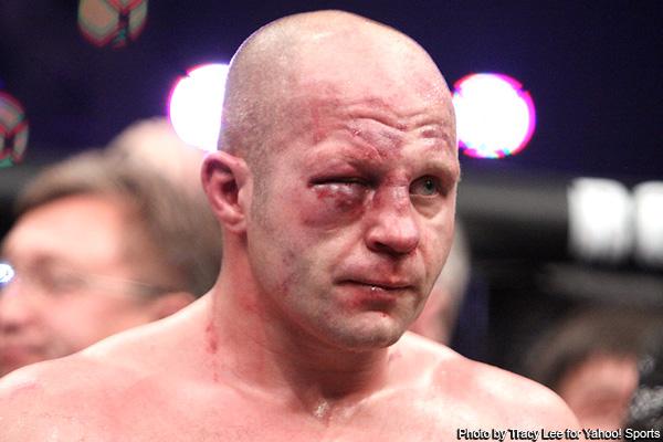 fedor eye Fedor Not Retiring, Fight Draws 1.1 Million Viewers