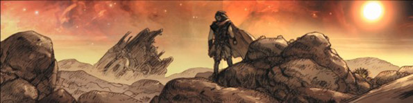 noah graphic novel image 01 Darren Aronofskys Noah Project