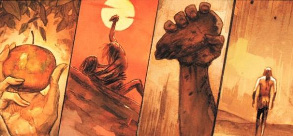 noah graphic novel image 02 Darren Aronofskys Noah Project