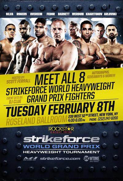sfgp Meet Fedor & GP Fighters In NYC